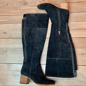 Marc Fisher | Black Suede Boots | Size 5.5